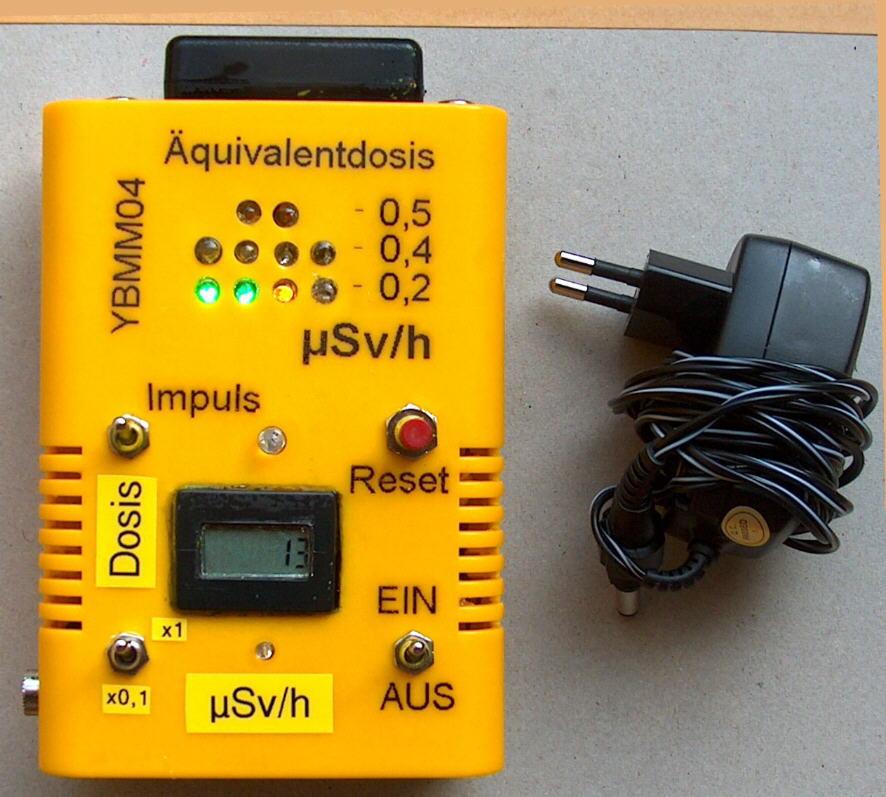 YB-Mini-Monitor YBMM04 mit Netzadapter