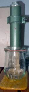 Alpha-Spektrometrie mit einem ZnS Szintillator (RAM63-Alpha-Sonde)