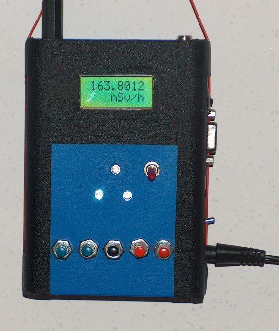 neuer externer Zähler und Datenspeicher fü den YB-Mini-Monitor und andere Strahlenmessgeräte