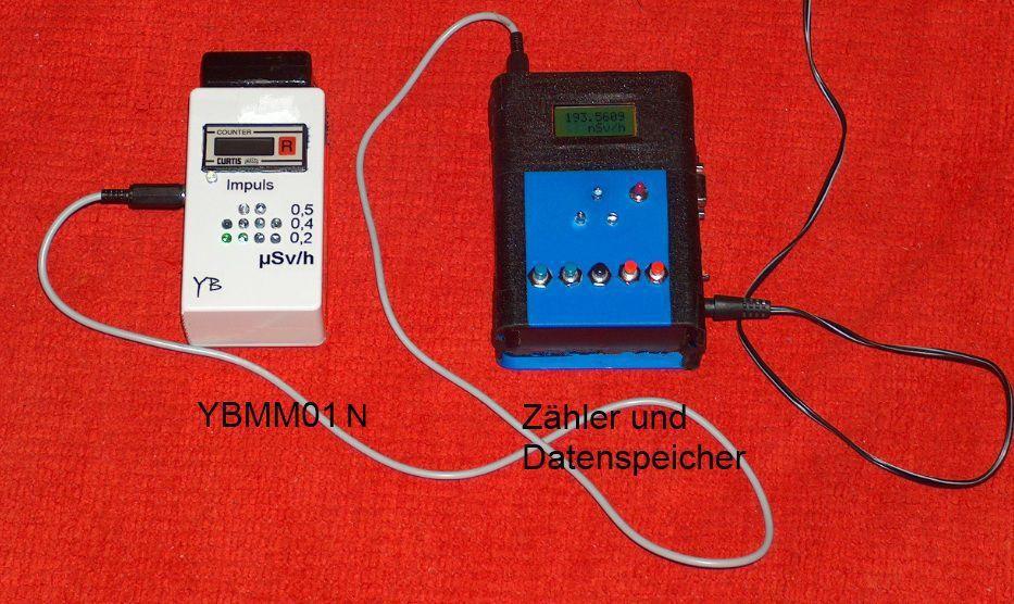 YB-Mini-Monitor mit neuem externen Zähler und Datenspeicher
